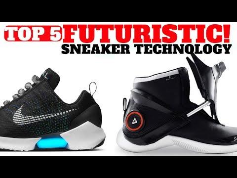 Top 5 FUTURISTIC Sneakers Technologies!