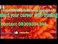 START U R CAREER WITH COMMODITY TRADING
