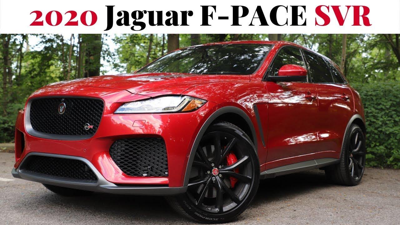 the 2020 jaguar f-pace svr - power  performance  prestige