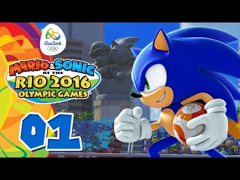 Mario & Sonic at the Rio 2016 Olympic Games #01 [Wii U] - Let the Games begin!