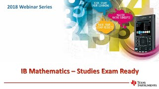 IB Studies Exam Preparation with TInspire