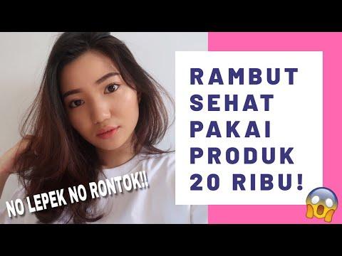 HAIRCARE TERSIMPLE DAN TERMURAH | cuma pake produk supermarket - YouTube