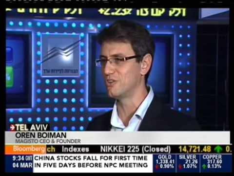 Oren Boiman On Bloomberg TV - 04.03.2014