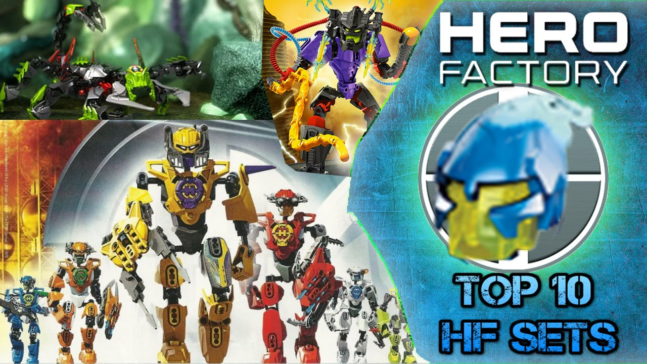 Top 10: Best Hero Factory Sets