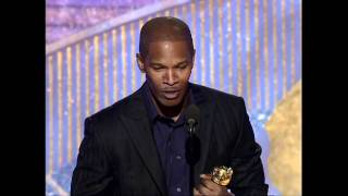 Jamie Foxx Wins Best Actor Musical or Comedy - Golden Globes 2005