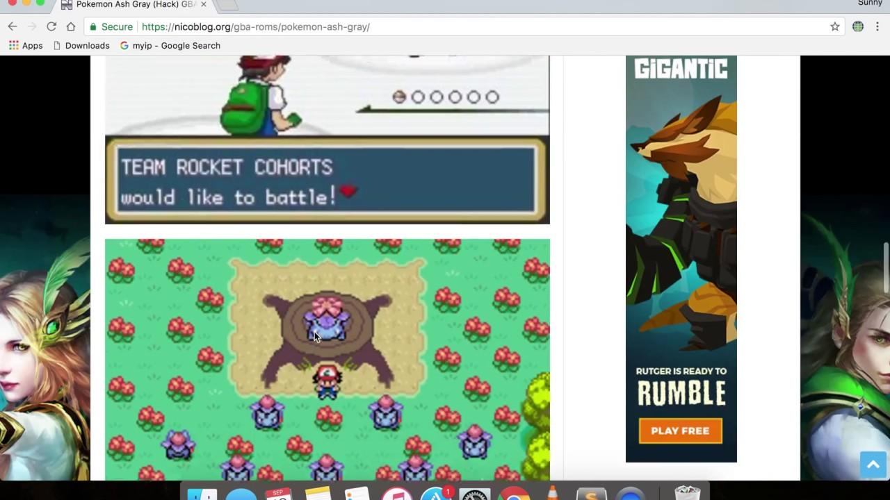 pokemon ash gray gba free download full version
