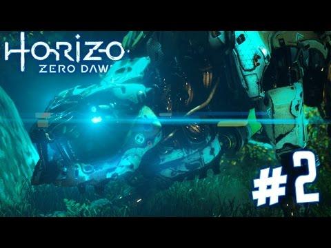 HORIZON ZERO DAWN Walkthrough - SAWTOOTH!   Part 2 (PS4) HD