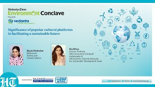 Significance of popular cultural platforms in facilitating a sustainable future