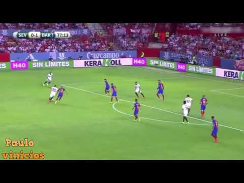 Paulo Henrique Ganso vs Barcelona (Super Cup) 14/08/2016