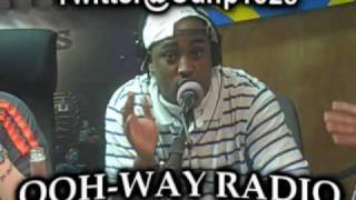 Lady Luck Freestyling For OohWay Radio with Oun-P