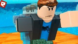 PAUL is WATER CHALLENGE! | Roblox