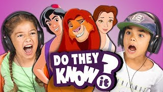 vermillionvocalists.com - DO KIDS KNOW 90s DISNEY SONGS? (REACT: Do They Know It?)