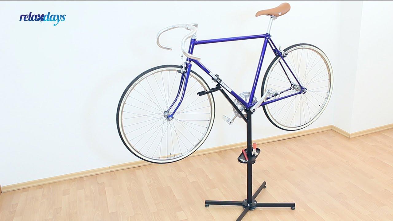 fahrrad montagest nder h henverstellbar youtube. Black Bedroom Furniture Sets. Home Design Ideas