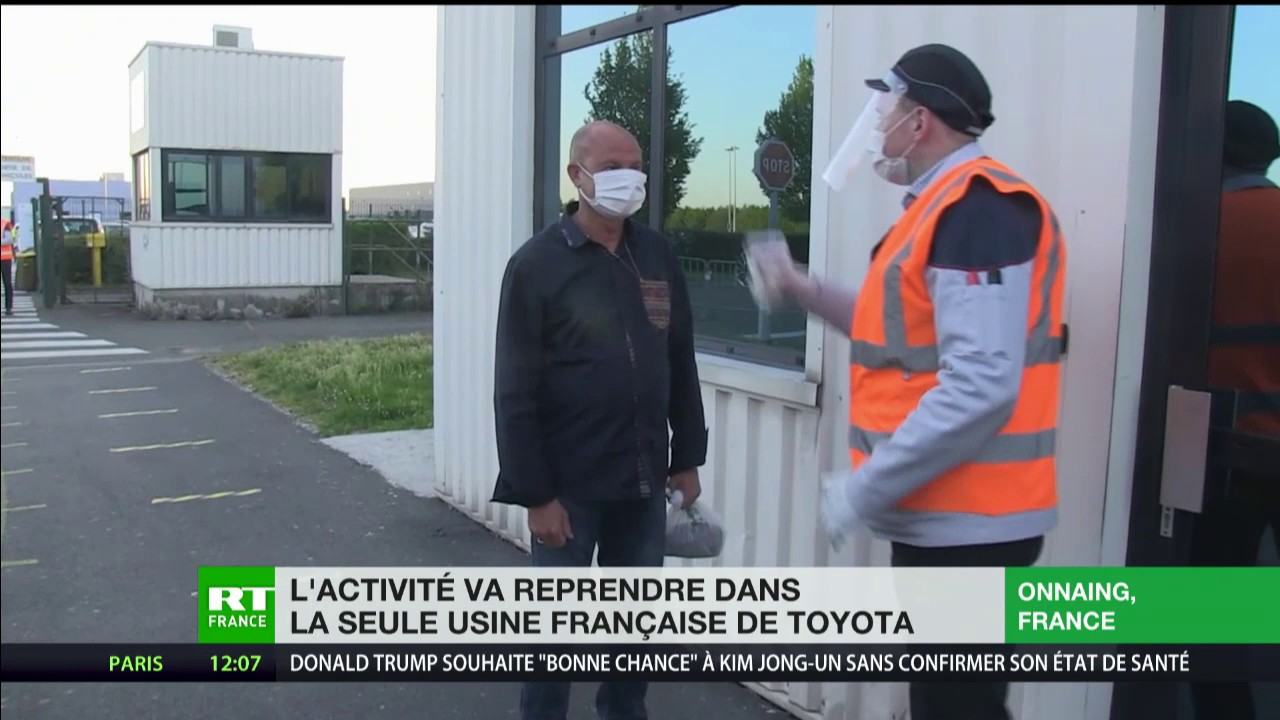 L'activité redémarre dans la seule usine française de Toyota