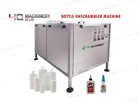 Automatic Bottle Unscrambler For Irregular-shape Bottles|bottle Sorter