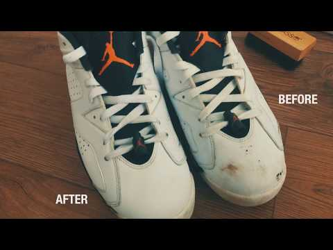 LiquidGlass Premium Cleaner Travel Kit - Sneakers Cleaning Demo