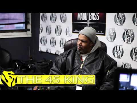 "45 King Making The ""Recording In Progress"" Meet Omi"