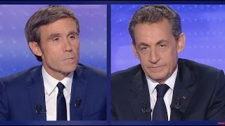 """Soupçon de financement libyen : """"vous n'avez pas honte Mr Pujadas"""" répond Sarkozy"""