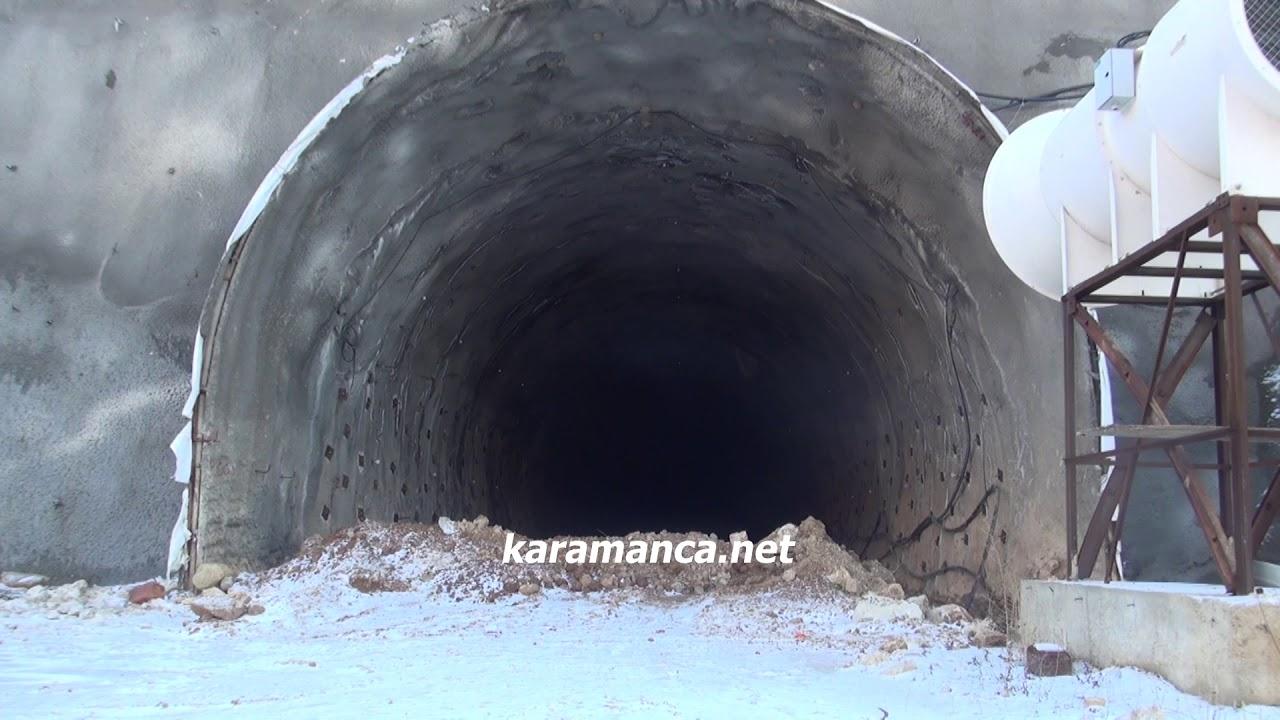 Sertavul Tüneli'nde çalışmalar durdu