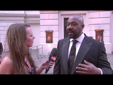Interview with Lenny Henry at The Olivier Awards 2012