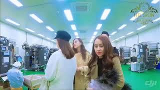 Hb Skin Cosmetics |Tham Quan Quy Trình Sản Xuất  Hb Skin Tại Hàn Quốc