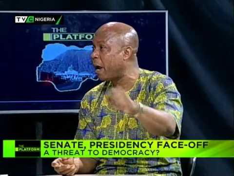 The Platform | Senate/Presidency Faceoff : A threat to Democracy