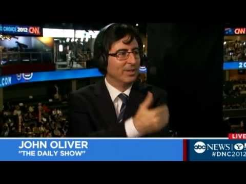 'Daily Show's' John Oliver Yells at Steny Hoyer at the Democratic National Convention Comedy