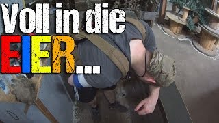 Voll in die EIER.. Highlander Airsoft un-Funny Moments CQB Gameplay Lauterbach 09.06.2018