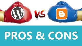 видео WordPress VS Blogger