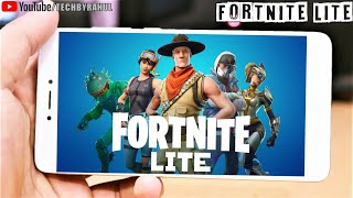 how to play fortnite lite in any android mobile 100% real yes or no