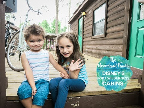 A Rainy Day At Disney's Fort Wilderness Cabins