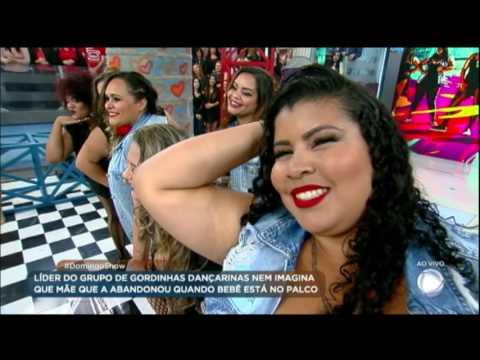 Dançarinas plus size encaram desafio e dançam sucesso de Anitta no palco do programa