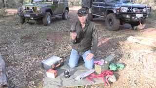 4 Wheeling Tips Spare parts to carry into the bush, 4wd tips off-road spares