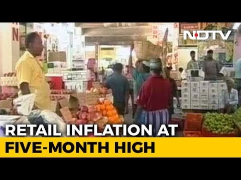 Consumer Inflation Accelerates, Factory Production Slips