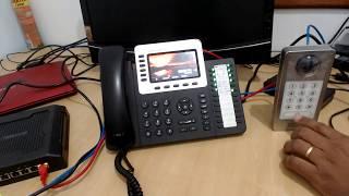 GDS 3710 com aparelho IP GXP2160