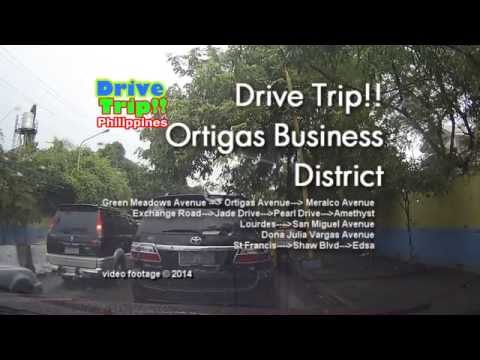 Drive Trip!! - Ortigas Business District / Philippines
