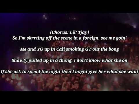 Leaked (Remix) - Lil Tjay Ft. Lil Wayne (Official Lyrics U0026 Audio)