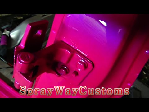 How To Paint Car Door Jambs Outrageous On 2001 Cadillac Deville Part 2