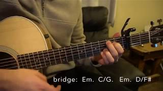 Hold My Girl // George Ezra // Easy Guitar Lesson Video