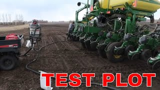 Test Plot and NEW 8RX and John Deere Planter Review
