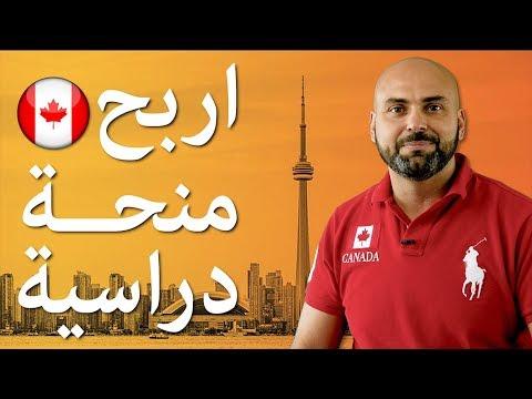 اربح منحة دراسية الى كندا فادي يونس Youtube