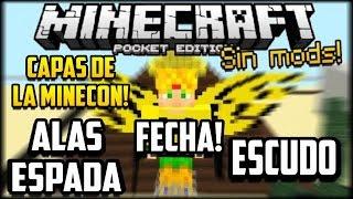 Minecraft PE APK OFICAL MODIFICADO CON ALAS ESPADA Y ESCUDO - Skins para minecraft pe con alas