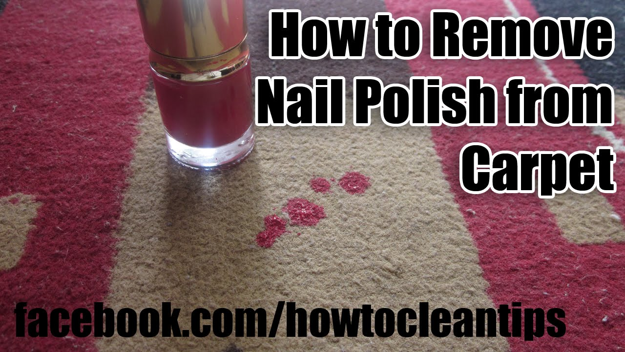 how to remove nail polish from carpet stain removing tips youtube. Black Bedroom Furniture Sets. Home Design Ideas