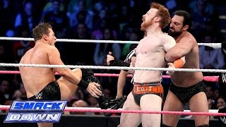 Sheamus & Dolph Ziggler vs. The Miz &