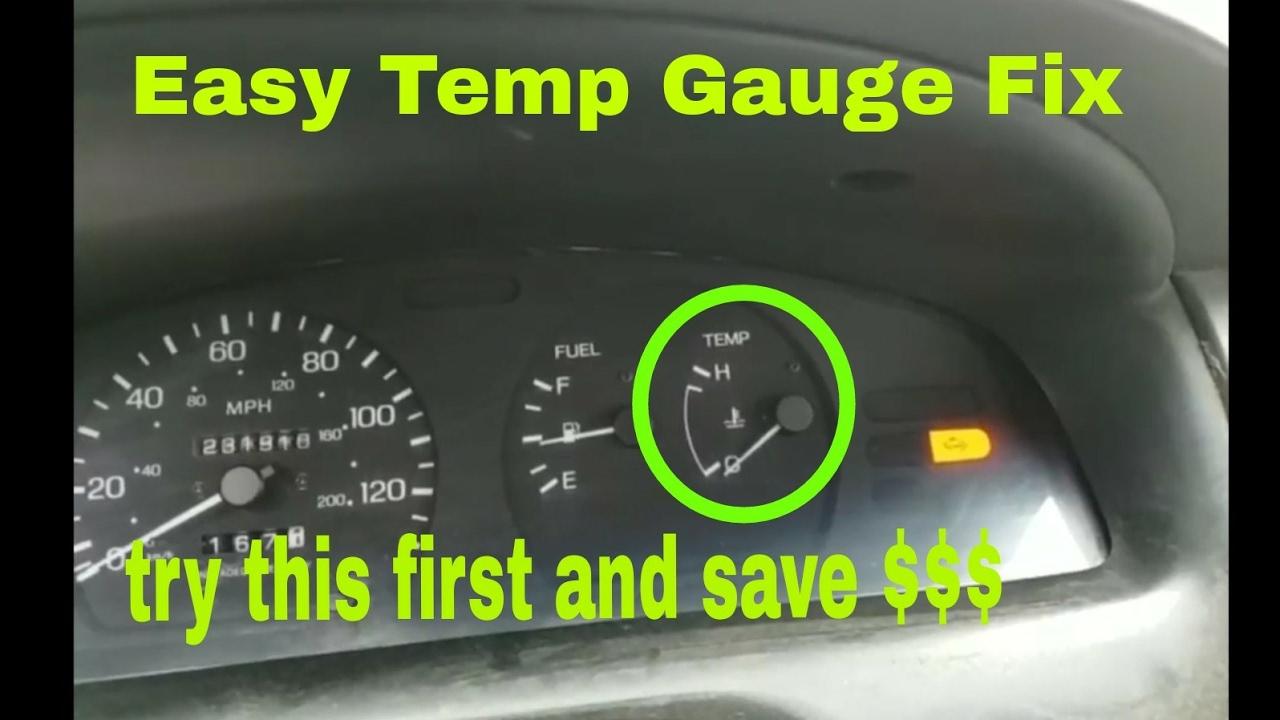 How to fix your temperature gauge