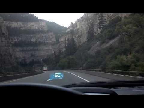Interstate 70 through Glenwood Canyon
