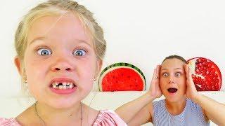 Лера и история про то почему выпал молочный зуб