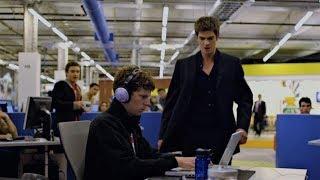 Социальная сеть (2010) - Эдуардо узнаёт о понижении своей доли в капитале компании