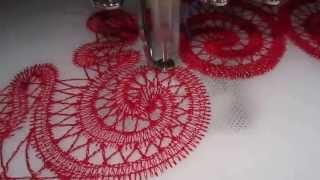 Bordando em tecido solúvel com máquina comum