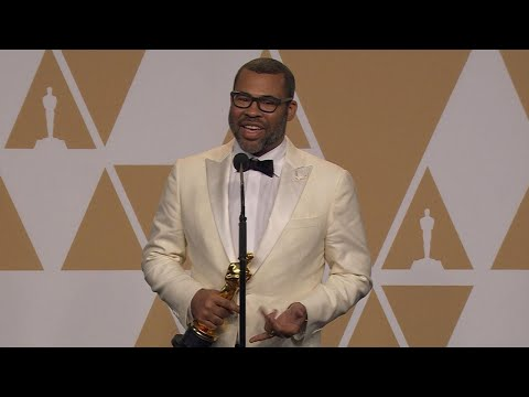 Oscars 2018: Jordan Peele Backstage (FULL PRESS CONFERENCE)